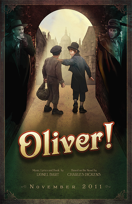 Oliver Promotional Poster By David Occhino Design