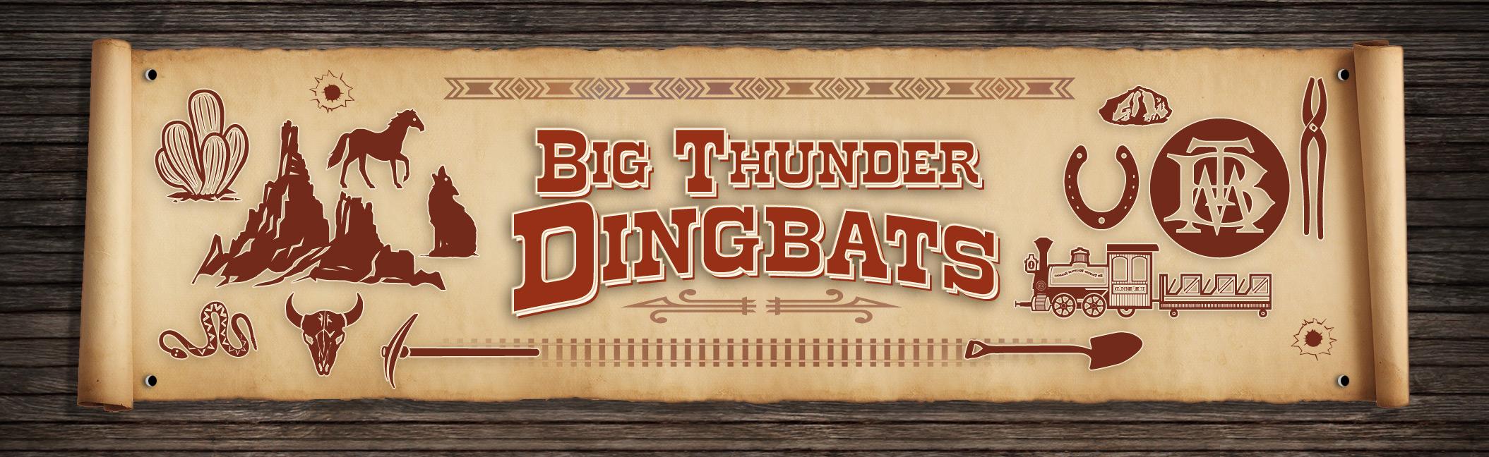 Fontshop big thunder dingbats free western font