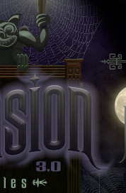 Haunted Mansion font - Victorian font - from the David Occhino