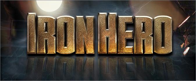 Iron Font Iron Man Font Iron Hero Font