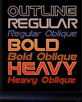 Space font - Space - An outer space font from the David