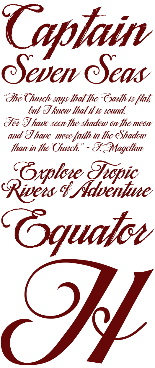 Tradewind Font Information And Type Samples
